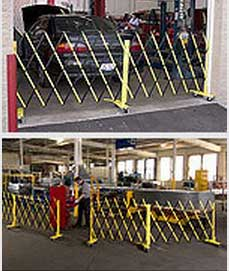 Parking Garage Mobile Access Control Barrier Gates