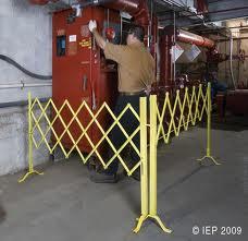 Call Us For A Free Security Access Control Folding Scissor Aisle Gate