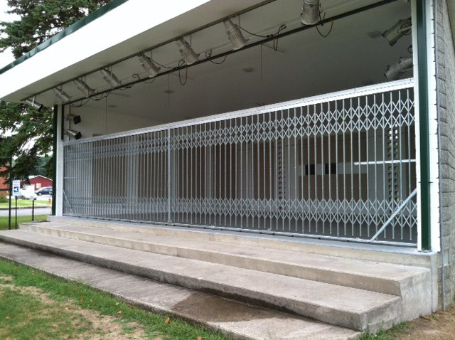 Building Outdoor Security Gates