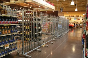 Click Here For A FREE Aisle Access Control Accordion Gates