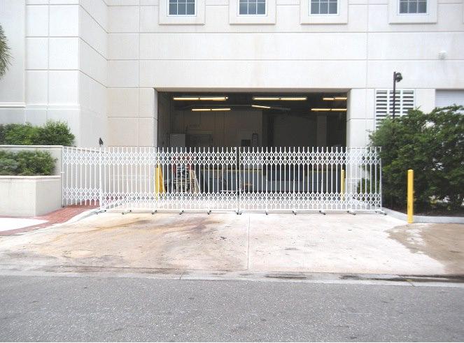 Warehouse Loading Dock Security Gates
