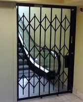 Hallway Security Door Gates