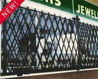 Quality Steel Window Scissor Security Gates
