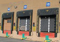 Commercial Loading Dock Security Door Gates