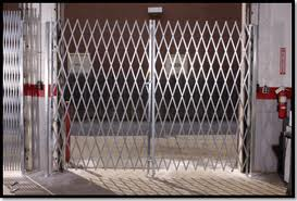 Security Gate Gallery Warehouse Scissor Gates