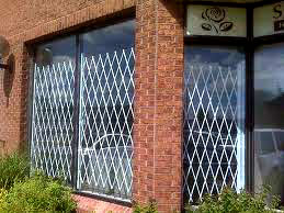 Galvanized Steel Window Gates