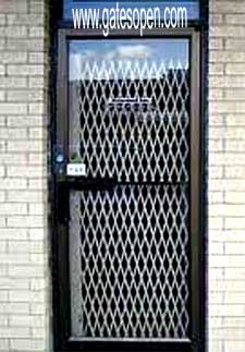 Metal Accordian Doorway Gates