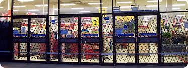 Metal Gates Storefront Folding Scissor Security Gate