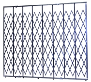 Custom Built Heavy Duty Folding Security Gates
