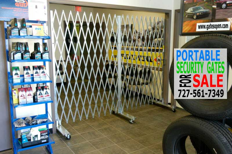 Portable Security Gate Sales & Custom Made To Your Specifications.
